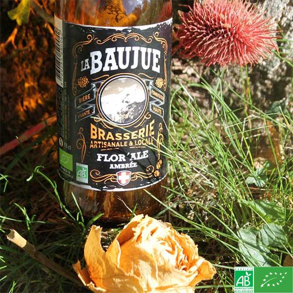 Bière Flor'ale - La Baujue