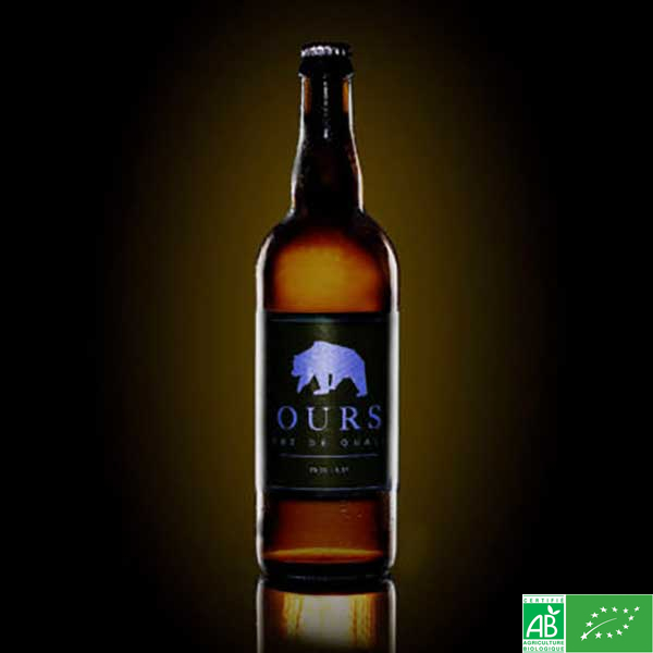 Bière Ours Rousse IPA - Brasserie Caquot