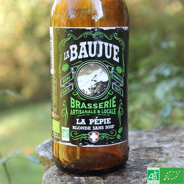 Bière La pépie - La Baujue