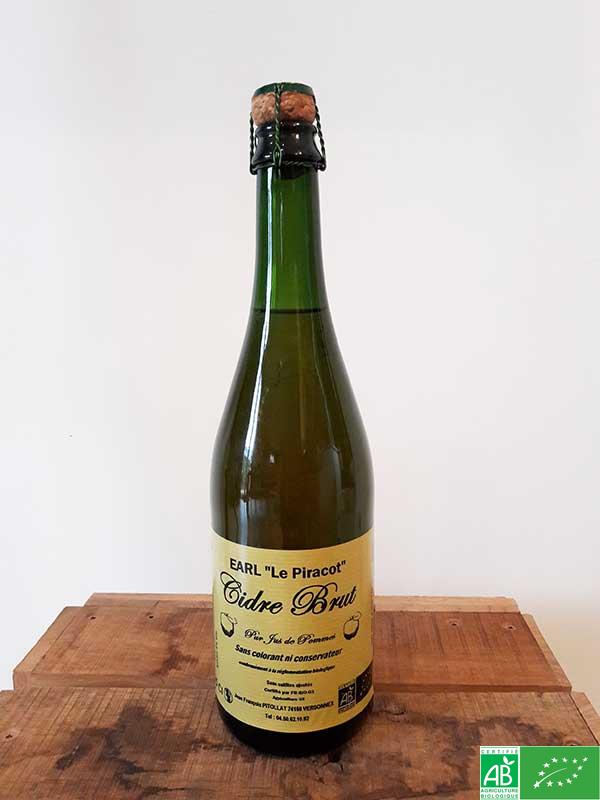 Cidre brut - EURL Le Piracot