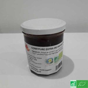 Confiture de fraises bio - GAEC vers les Champs