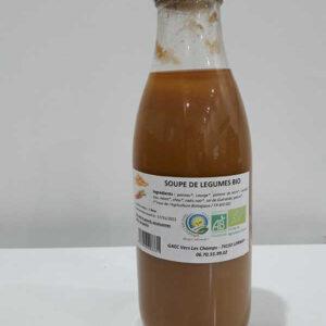 Soupe de légumes bio - GAEC vers les champs