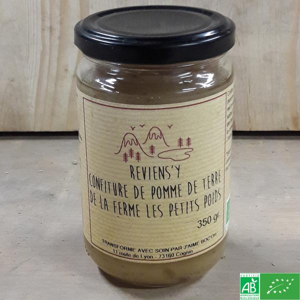 confiture de pomme de terre
