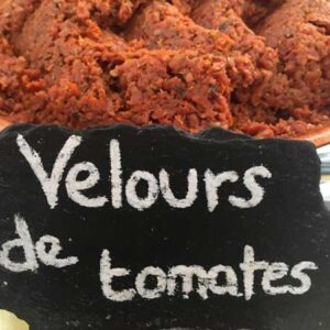Velours de tomate - Olivade de Valérie