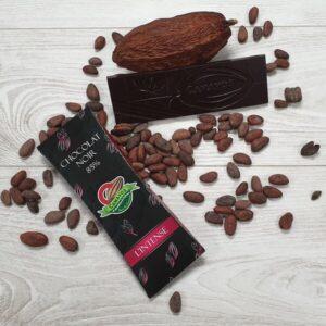 Tablette chocolat noir 85 de cacao